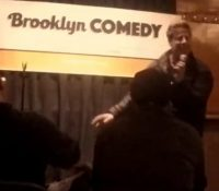Hey guys just want to thank everybody at Brooklyn Comedy.